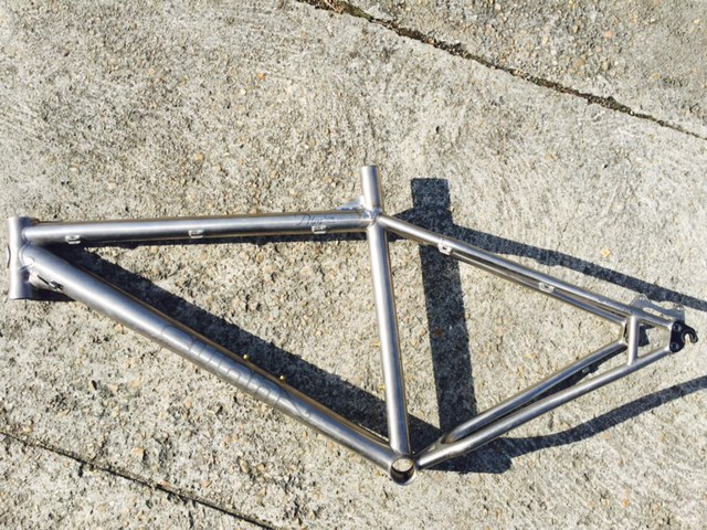 soudure cadre vélo sunn