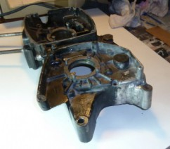 réparation carter moto après soudure